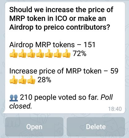 نظر سنجی در تلگرام