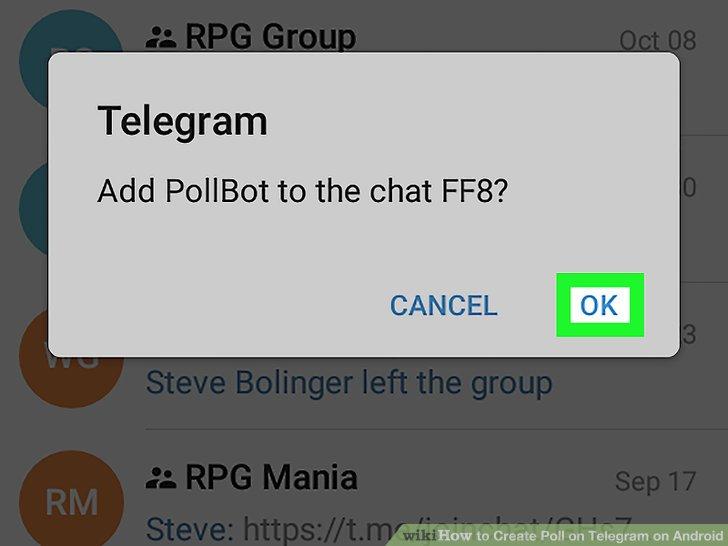 ربات تلگرام نظرسنجی