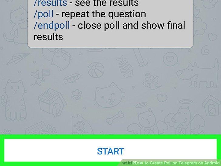 چطور در تلگرام نظرسنجی بگذاریم